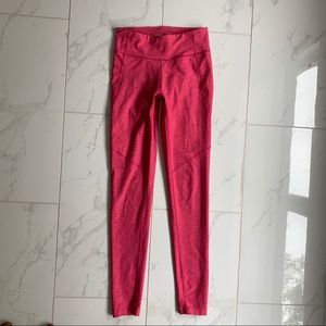 Outdoor Voices Red/pink leggings size XS